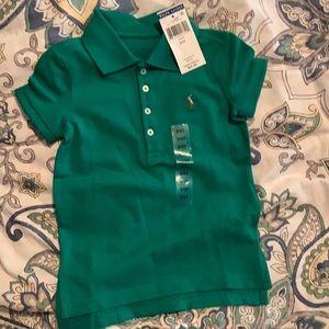 NWT Ralph Lauren polo shirt 3T